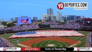 4th of July  Chicago Cubs vs. Tampa Bay Rays Wrigley Field