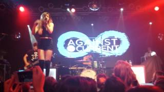 Against The Current (Live) - Chocolate (Cover) at Highline Ballroom