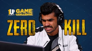 Zero Kill Challenge with Shreeman Legend | 1Up Game Challenge | PUBG Mobile