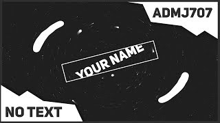2D Black and White Intro #8 - After Effects, Sony Vegas, Blender, Mobile phone ◄ FREE No Text ►