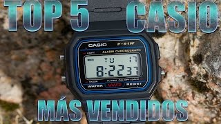 TOP 5 | RELOJES CASIO MÁS VENDIDOS