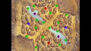 Quick Tips for: League of Legends, Places to ward