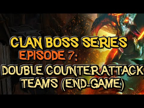 RAID: Shadow Legends | CLAN BOSS SERIES EPISODE 7: DOUBLE COUNTER ATTACK (END GAME STRATEGY)