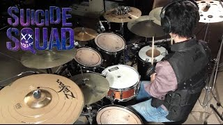 Suicide Squad - Sucker for Pain -Lil Wayne, Wiz Khalifa & Imagine Dragons Drum Cover by Kevin Dwi