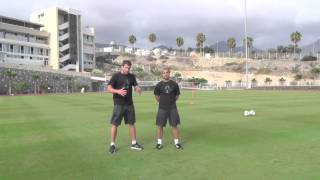 Fitness For Football - Defensive Conditioning Drill