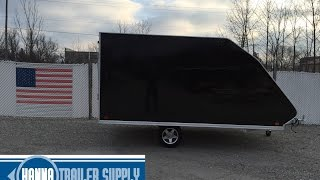 SnoPro 12 Foot Hybrid Enclosed Snowmobile Trailer