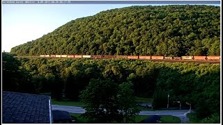 World Famous Horseshoe Curve Cam - Virtual Railfan LIVE