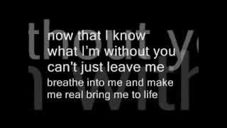 Evanescence-Bring Me To Life(with lyrics\con testo)