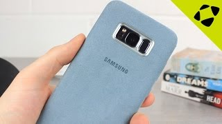 Official Samsung Galaxy S8 Plus Alcantara Cover Review - Hands On