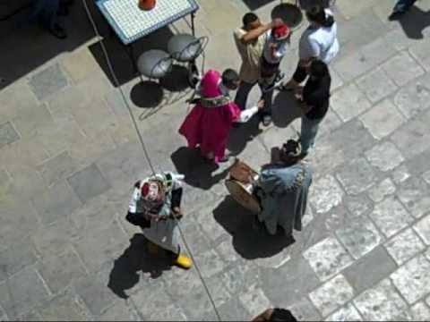 Lunch & Street Entertainment in Fes