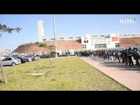 Video : CHAN : Ambiance d'avant match Burkina Faso - Angola au grand stade d'Agadir