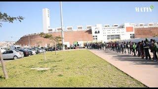 CHAN : Ambiance d'avant match Burkina Faso - Angola au grand stade d'Agadir