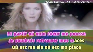 CELINE DION   PARLER A MON PERE I G C JJ Karaoké - Paroles