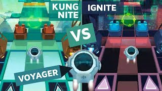 Rolling Sky Level 23 Ignite vs Kungnite (Voyager) Alan Walker - ReSkinned Version | SHA