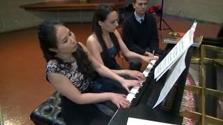 Tchaikovsky Waltz from The Sleeping Beauty - Chiu-Villafranca Duo (arr. Rachmaninoff)