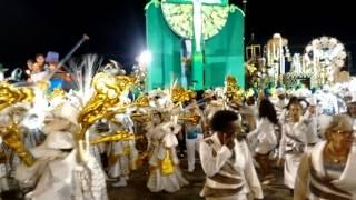 Último carro e bateria da Unidos de Vila Maria - Desfile de  25/02/2017