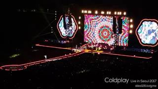 Hymn For The Weekend - Coldplay (Live in Seoul 2017)