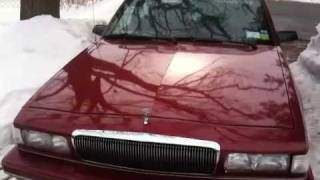 My 1995 Buick Century few month after maaco paint job