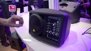 NAMM 2013: Behringer Eurolive B207 MP3