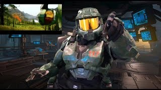 Master Chief Reaction to Halo Infinite Trailer!