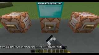 Minecraft - Tutorial - How to Summon Falling Blocks [1.8.4]