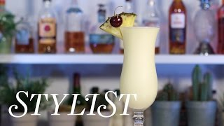 How To Make The Perfect Piña Colada