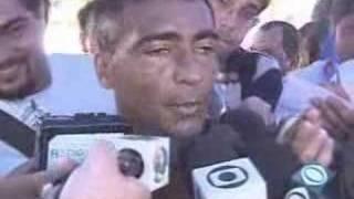 A briga de Romário e Pelé