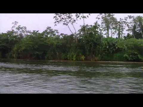 Nic 2011 down the Rio Escondido to Bluefields