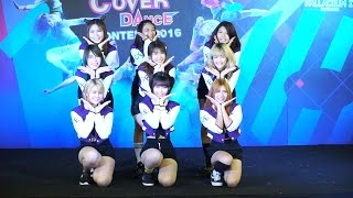 160618 Double You cover TWICE - Touchdown + CHEER UP @THE PALLADIUM 2016 (Audition)