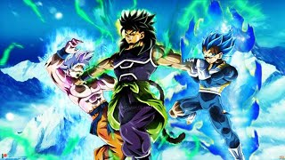 Dragon Ball Super New Movie 2018 Goku and Vegeta Vs broly [AMV] Warriors