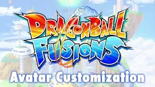 Dragon Ball Fusions - Avatar Customization Trailer   3DS