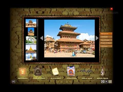 Interactive DVD ROM for Nepal Tourism Board