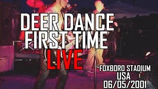 System Of A Down - Deer Dance - Foxboro Stadium, 2001 (First Time Live!)