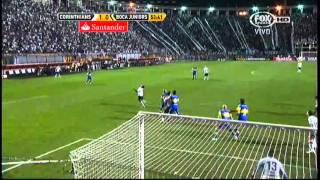 Gol de Corinthians sobre Boca Juniors (minuto 53)