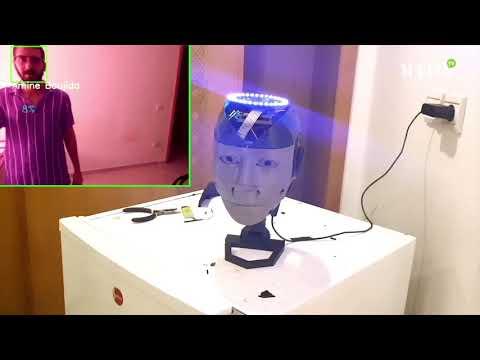 Video : «Sarah», un robot marocain signé Amine Boujida