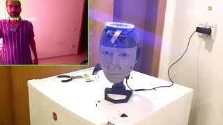 «Sarah», un robot marocain signé Amine Boujida