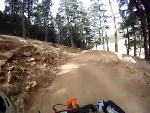 Trail ride morocco: Aguelman Azigza.