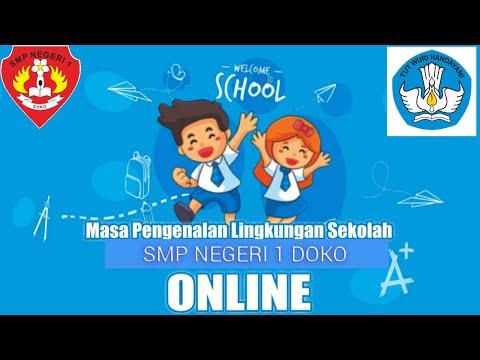 Pengenal Sekolah dalam kegiatan MPLS 2020/2021