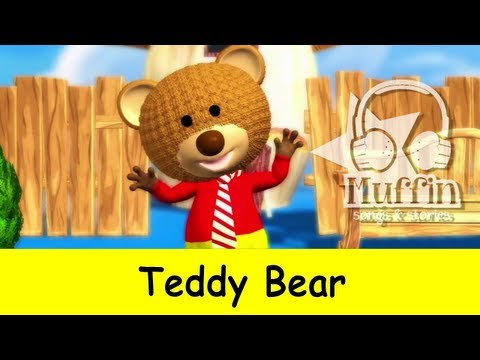 Teddy Bear | Family Sing Along - Muffin Songs - YouTube