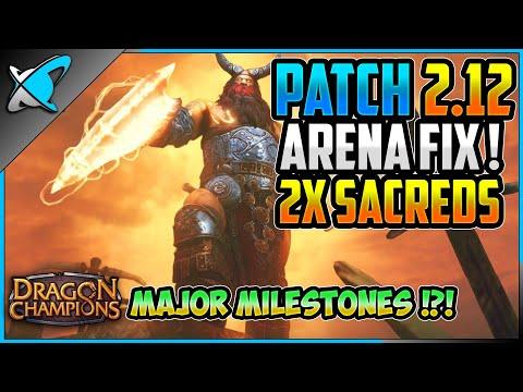 ⚡ARENA FIX IMMINENT⚡ | Patch 2.12 Details | Dragon Champions Milestones ! | RAID: Shadow Legends