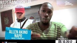 NAPO & ALLEN AKINO (RAFALE 2 PUNCHLINES) - RAPFRANCUSKI.PL Freestyle Sessions Marseille #11
