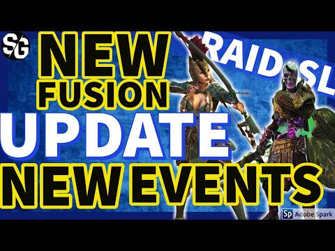 [RAID SHADOW LEGENDS] NEW EVENT, NEW FUSION & CHAMPS