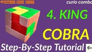 HOW TO MAKE KING COBRA, ANACONDA IN RUBIK'S CUBE😎😎.