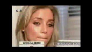 """Luciana Abreu - bastidores - Programa """"Chuva de estrelas"""" (2009)"""