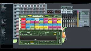 Zouk beat 2012 Fl Studio retro / love instru