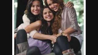 Send It On-Jonas Brothers,Miley Cyrus,Demi Lovato,Selena Gomez(w/Lyrics)