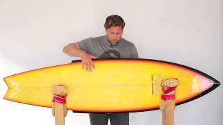 Mark Richards Da Sting Surfboard Review no.30 | Benny's Boardroom - CompareSurfboards.com