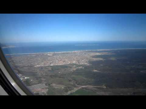 Turkish Airlines Landing Cape Town South Africa #3
