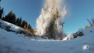 Clearing a Beaver Dam with Dynamite   Sons of Winter
