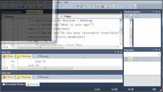 Visual Basic Tutorial - 15 - Nested If Statements width=